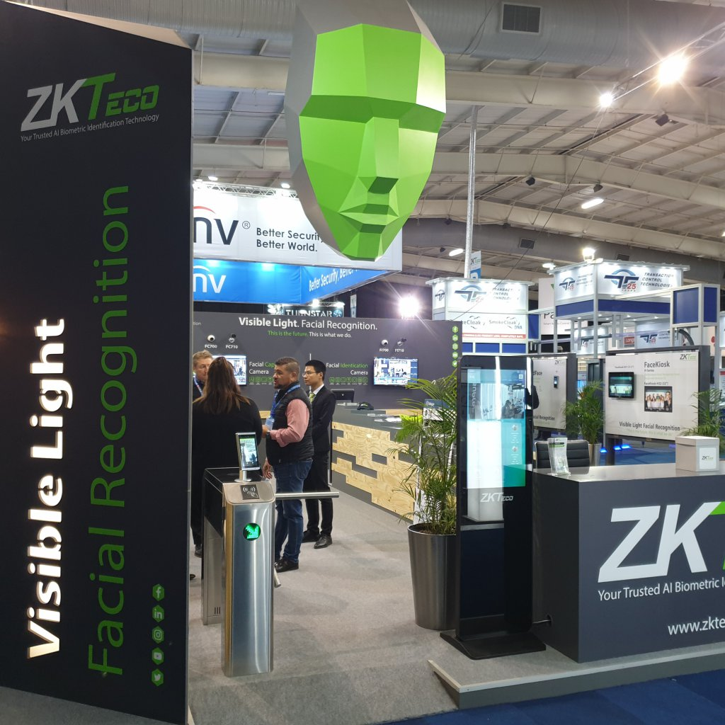 ZKTeco Exhibition Stand